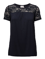 Siri Lacy Blouse- MIN 2 - MIDNIGHT MARINE
