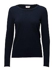 Loretta o-neck pullover - MIDNIGHT MARINE