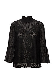 Svala blouse - BLACK DEEP
