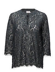 Marry Lace Blouse- MIN 2 - DARK SLATE