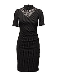 Merise India dress - BLACK DEEP