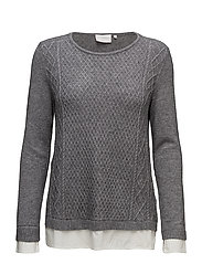 Norina pull over - GREY MELANGE