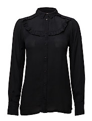 Lulu shirt - BLACK DEEP