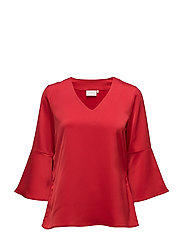 Bebiane Blouse - HAUTE RED