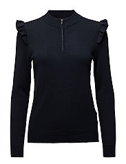 Svea Knit Pullover - MIDNIGHT MARINE