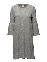 Ninette Dress - GREY MELANGE