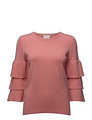 Evie pullover - BRIGHT ROSE