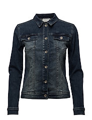 Rina Jeans Jacket- MIN 6 Pcs - WASHED OUT DENIM