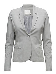Jillian Blazer - LIGHT GREY MELANGE