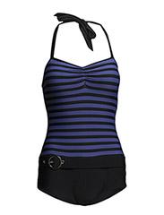 Badeanzug - blue-black