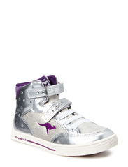 Spiky Rock Hi - Silver