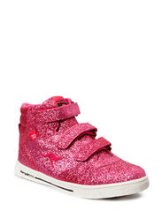 Spiky Glitter Hi - Rose