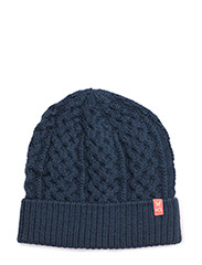 MØLSTER BEANIE - NAVY