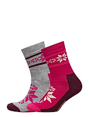 KARI WOOL SOCK 2PK CO - SWE
