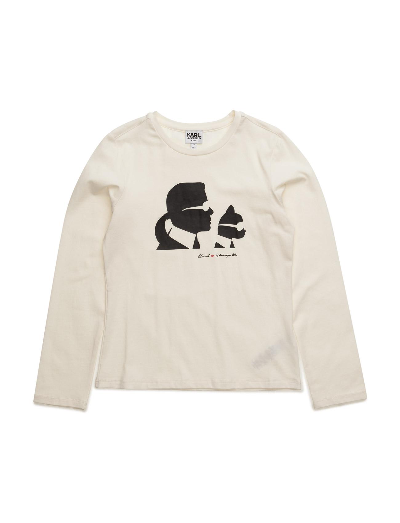 karl lagerfeld T-shirt fra boozt.com dk