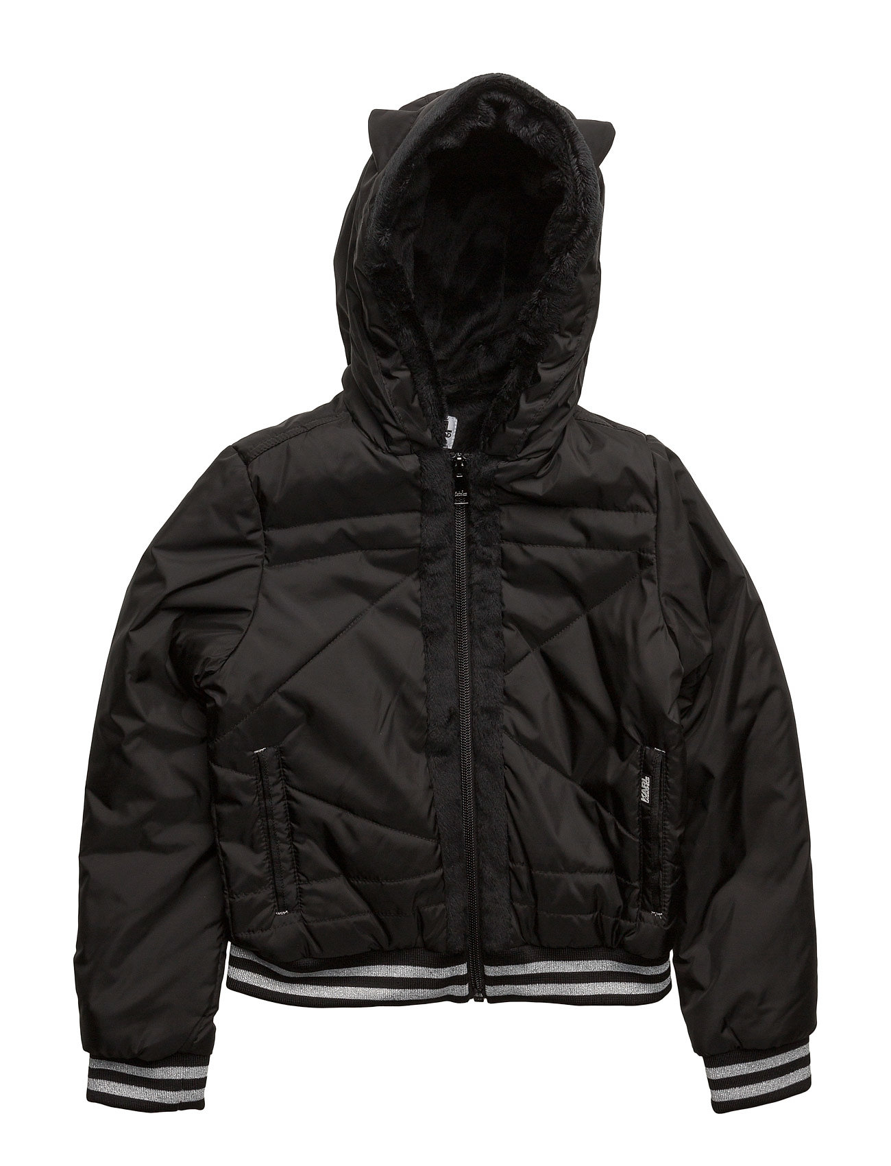 Hooded jacket fra karl lagerfeld på boozt.com dk