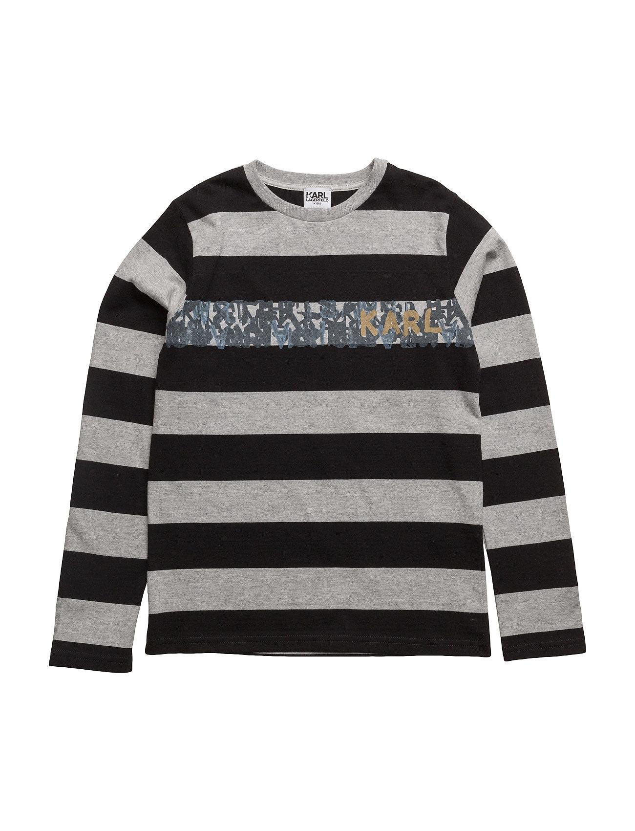 T-Shirt Karl Lagerfeld Langærmede t-shirts til Børn i