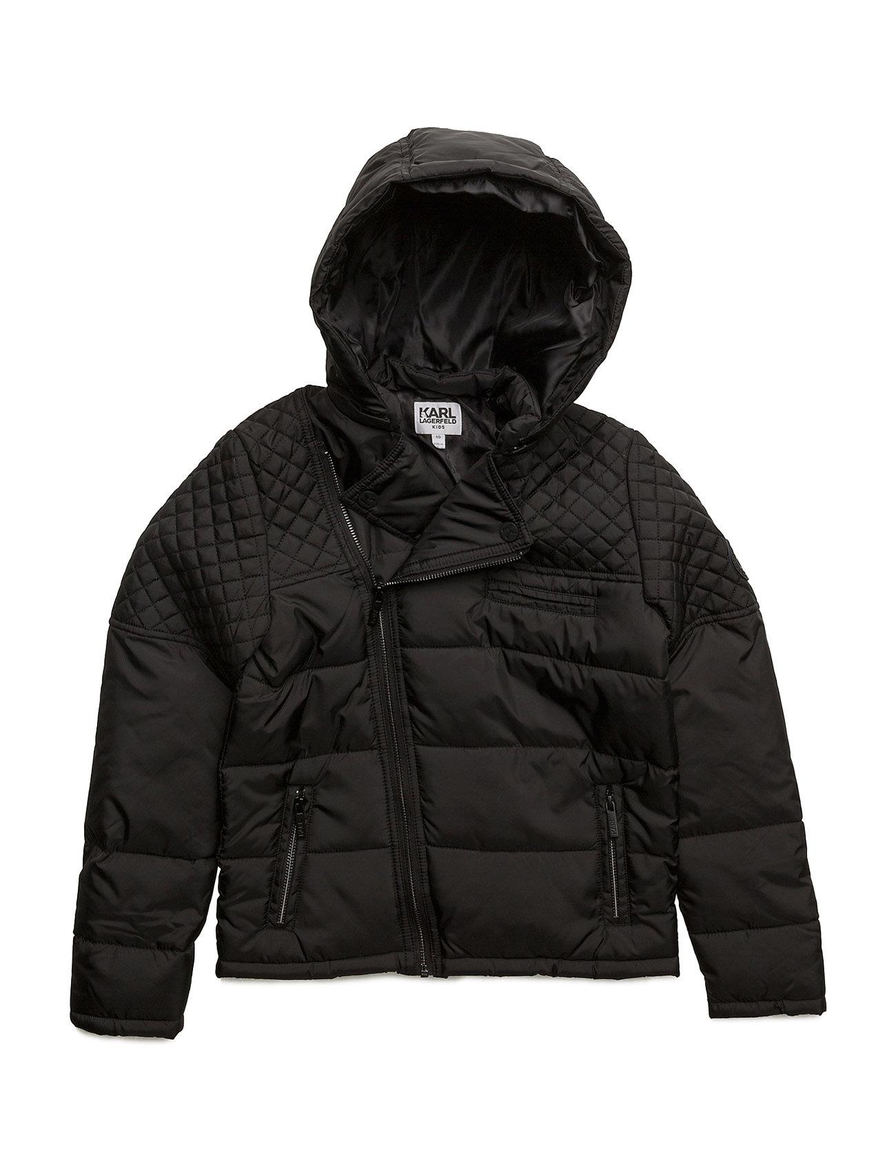 Puffer jacket fra karl lagerfeld på boozt.com dk