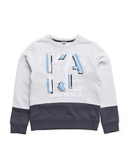 SWEATSHIRT - GREY BLUE
