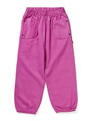 Soft Corduroy loose Pants - Orchid