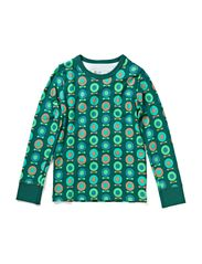 Printed Ess L/S T-Shirt - Pine midi space apple