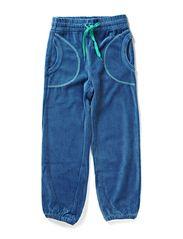 Velvet Pants - Dusty blue