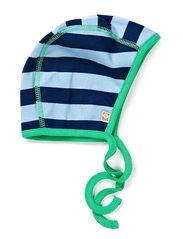 Cottonwear Baby hat - Navy/Lt.bl