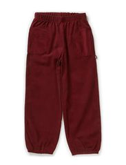 Soft Corduroy Loose Pants - ZINFANDEL