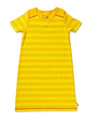 Cottonwear S/S Dress - Yellow/Sun