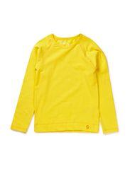 Plain Jersey L/S T-shirt - Blaz. Yell