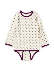 Micro Apple L/S Body - Purple/Pin