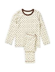 Micro Apple Pyjamas - Brown M.A