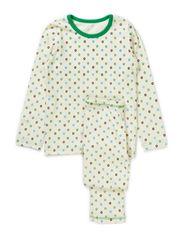 Micro Apple Pyjamas - Green&Blac