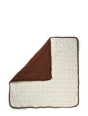 Micro Apple Blanket 100x100 - Brown M.A