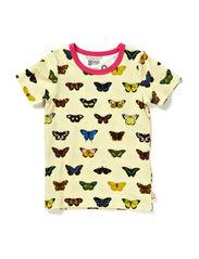 Albertus Seba S/S T-Shirt - AB Butterf