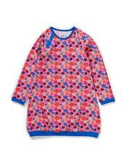 Printed Ess L/S Dress - Wild flowe