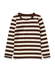 Classic Stripes L/S T-Shirt - Brown & White