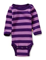 Classic Stripes L/S Body - Purple & Violet