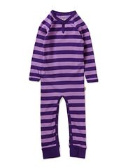 Classic Stripes Bodysuit - Purple & Violet