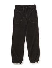 Classic Velvet Pants - Black