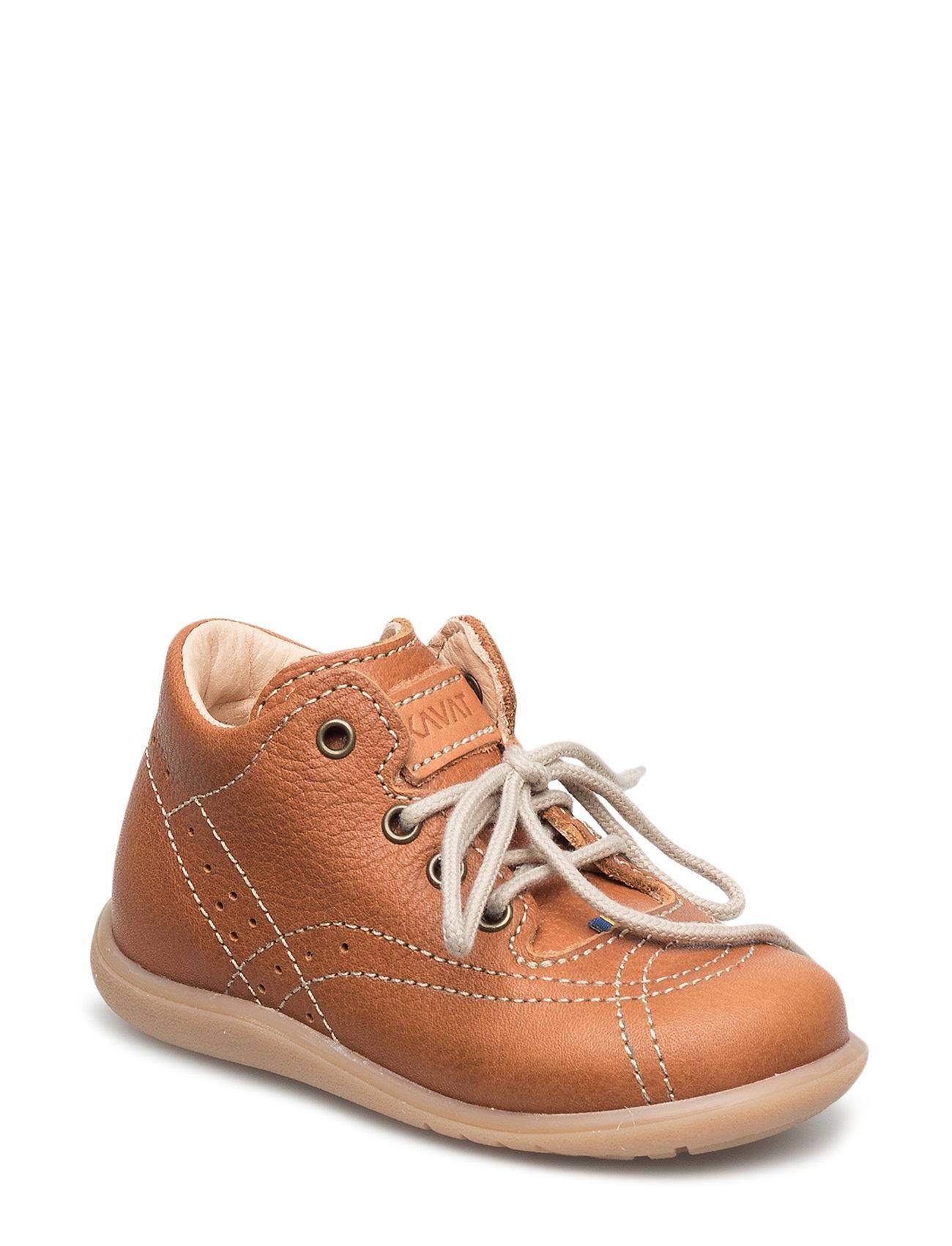 Edsbro Ep Shoe Kavat Sko & Sneakers til Børn i Lysebrun