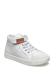 Västerby XC Ankle high sneaker - WHITE