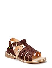 HÖLLICK XC  Summer sandal - DARKBROWN