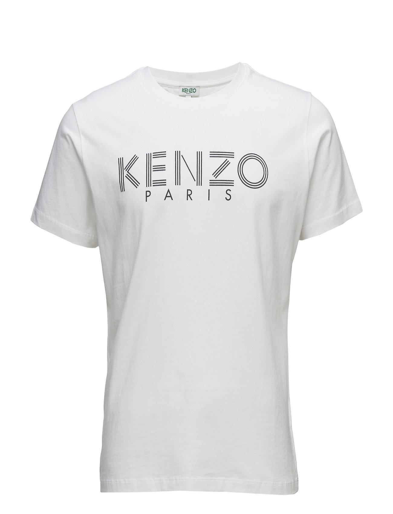 Short Sleeves T Main Kenzo Kortærmede til Herrer i hvid