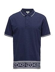 Short sleeves polo shirt - INK