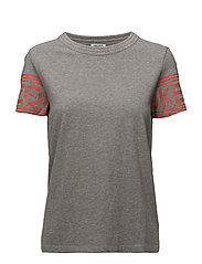 Knitted T-shirt Main - DOVE GREY