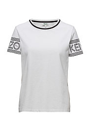 Knitted T-shirt Main - WHITE