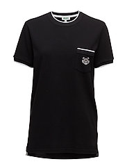 Short sleeves T Main - BLACK