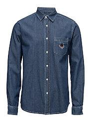 Casual shirt main - NAVY BLUE