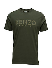 Short sleeves T Main - DARK KHAKI
